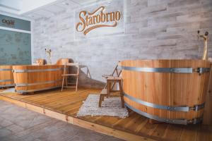 pivní lázně - hotel Ogar